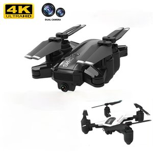 Profession WIFI FPV With 4K Dual Camera Wide Angle HD Hight Hold Mode Foldable Arm RC Quadcopter Drone X Pro RTF Dron