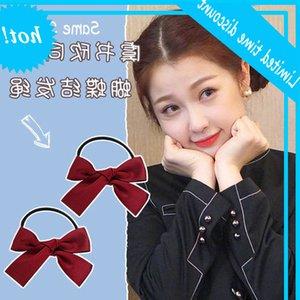 Yu Shuxin same bow double horsetail hairband headband Hansen sweet cute hairpin headdress