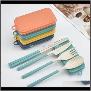 مجموعات مطبخ أطباق، شريط الطعام الرئيسية حديقة إسقاط التسليم 2021 القمح سانت للطي السكاكين مجموعة الاطفال سكين شوكة ملعقة عيدان الحلاقة