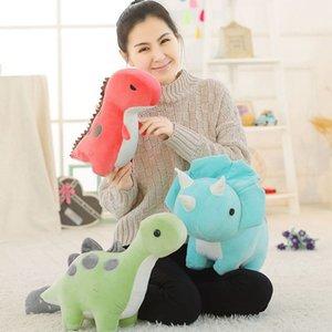 30 50cm Dinosaur Plush Cartoon Stuffed Toys Animal Dolls Soft Lovely Dino Hug Sleep Pillow For Kids Children Birthday Gifts1017
