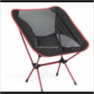 Acessórios esportes ao ar livre entrega entrega 2021 Cadeira dobrável portátil fezes ultralight para camping picnic piquenique max carga 100kg feita por 66