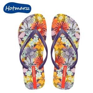 marzz Women slipper Daisy Pattern beach style non-slip shoes 210622