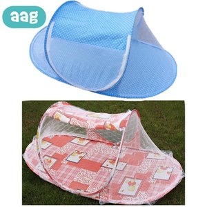 Portable Folding Baby Bedding Crib Mosquito Net Born Child Summer Infant Insect Netting Yurt Outdoor Tent 0