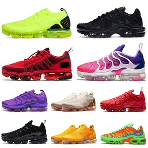 2021 TN PLUS SIZE US 13 Run Utility Shoes CPFM Mens Womens MOC FLY KNIT Running Trainers Outdoors Sports Sneakers EUR 45
