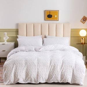 Bedding Sets Luxury Euro Duvet Cover 200x200 With Pillowcases Bed White Linen Pillowcase 50x70