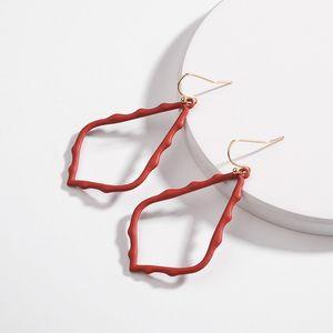 Kendra in stile Sophee in lega telaio ovale scott orecchini moda ciondolare orecchinips0832 857 q2