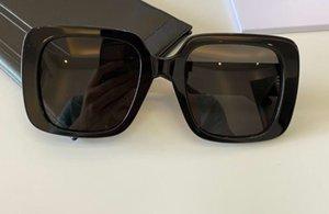 أسود رمادي مربع نظارات s3u النساء أزياء نظارات الشمس sonnenbrille gafa دي سول نظارات الصيف مع مربع