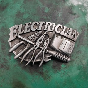 1 Pcs Electrician Tool Western Cowboy Belt Buckle For Men Fit 4cm Wide Belts Hebillas Cinturon