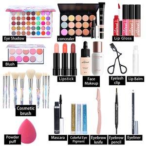 Popfeel Hepsi Bir Tek Makyaj Setleri Kız için Yeni Varış 20 Farklı Stiller Tam Profesyonel Kozmetik Kiti