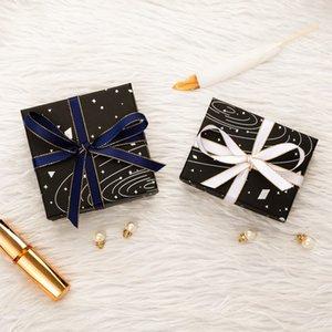 Jewelry Display Box Starry Sky Sky Modello Cassa regalo per Bracciale Collana Anello Imballaggio Presente Presente Sposa Bride Gioielli Organizer W1219 780 R2