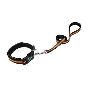 Dog Collars & Leashes Outdoor Lightweight Collar Pet Supplies Strong Quick Release Walking Neck Strap Neoprene Padded With Leash Soft Fashio