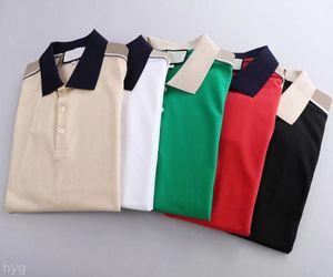 Mens Stylist Polo Shirts Luxury Italy Designer Clothes Short Sleeve Fashion Men Summer T Shirt Asian Size M-3XL