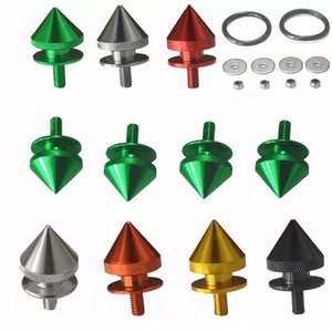 Bolts Nuts Car Surrounded By Reinforcement Body Kits Screws Universal Front Bar Quick Release Fastener Clip Conical Anti-collision