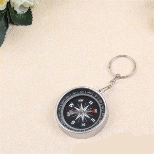 Portable Aluminum Lightweight Emergency Compass Outdoor Survival Compass Tool G44-2 Navigation Wild Tool Black Brujula Chaveiro 1059 Z2