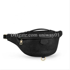 Woman waist bag chest handbag embossed patterns men purse flower serial number quality shoulder bags handbags wholesale discount
