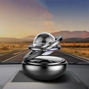 Interior Decorations Pcs Solar Magnetic Levitation Car Rotating Creative Decoration Gift Air Freshener Accessories