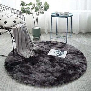 Carpets Washable Seven Color Design Nordic Style Carpet Prototype Velvet Fluffy Modern Home Decor