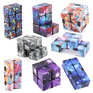 Infinity Magic Cube Creative Sky Fidget Antistress Game Toys Office Flip Cubic Puzzle Mini Blocks Decompression Funny Toy