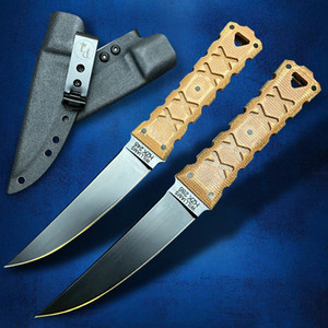 Winkler Williams M2 steel tactical straight knife with kydex sheath outdoor camping hunting self-defense EDC practical high hardness sharp fixed blade tools