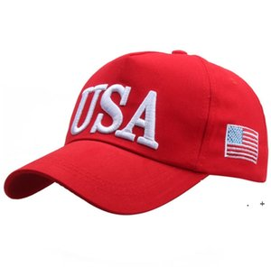 2024 Trump Baseball Cap Hats USA Presidential Election Party Hat with American Flag Caps Cotton Sports for Men Women Adjustable FWA7019