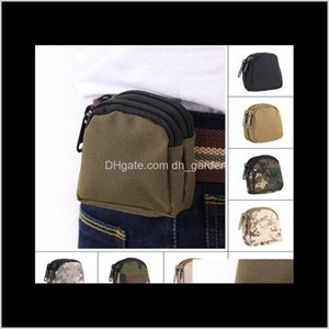 Storage Bags Nylon Fashion Waterproof Mini Sports Camouflage Bag Outdoor Camping Military Tactical Waist Pockets Dh0820 T03 Lopx8 Epua3