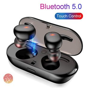 In-ear Bluetooth headset TWS Bluetooth 5.0 automatic pairing Touch stereo wireless sports Bluetooth headset