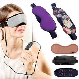 New Temperature Control Heat Steam Cotton Eye Mask Dry Tired Compress USB Hot Pads Eye Care Hot Fast Sleep Eye Mask