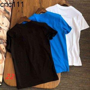2021 tendência moda camisetas Mensclothes verão fresco e respirável lazer de alta qualidade estilista senhora senhora mangas curtas-camisa de luxo