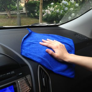Wholesale Microfibre Cleaning Cloths Home Household Clean Towel Auto Car Window Wash Tools 627 S2