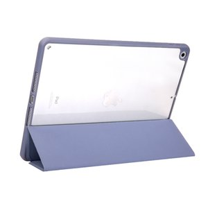 Tablet PC Cases Fashion Two-in-one three-fold pen slot acrylic hard case Accessories Stylish Designers