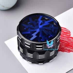 Светло-голубая мода 4-слойный алюминиевый сплав металлический металлический дробилка