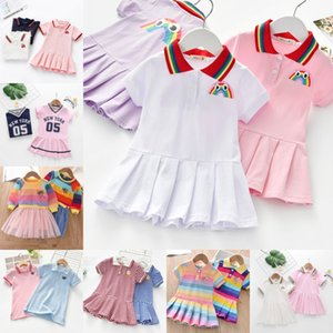Unicon Children Dress Spring Summer Turn-Down Collar Kids Clothes Fashion toddler Baby Girls Clothing Summer Dress Girl 1142 Y2