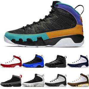 Vintage 9 9s Jumpman Scarpe da basket Gym Red Black Blue Sogno It Bred Bred OG Spazio Jam Jakers Unc Mens Sneakers sportivi