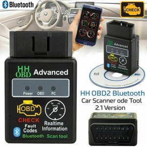 Bluetooth OBD2 ELM327 Car Fault DTC PCB Code Reader Automobile Engine Diagnostic Scanner Tool Interface Adapter For Android PC