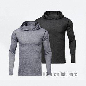 leggings mens t shirts hoodies yoga hoodie Sports lu Gym Wear Align Elastic Fitness Tights Workout men M0sQ#