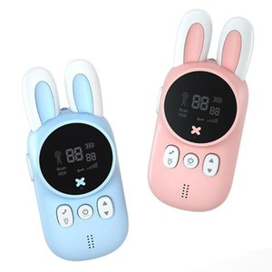 Kids Walkie Talkies Cute Two-Way Radio Handheld Long Range Drop Proof Intercom For Children Boys Girls Lighting & Studio Accessories