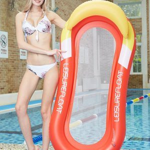 Inflatable Floats & Tubes Pool Float Bed Mesh Floating Water Mat Lounger Lilo Air Mattress