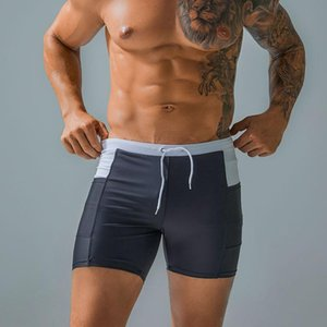 Underpants Mens Underwear Gay Boxershorts Homme Professional Swimming Quick Dry Trunks Boxer Briefs With Pocket