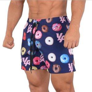 Hommes Arrivées Swinwear Summer Imprimer Sport sec Sport rapide Casual Beach Shorts Fashion Homme Vêtements