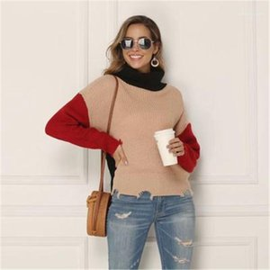 Women's Sweaters Female Long Sleeve Slim Turtle Neck Tops Clothing Women Casual Loose Autumn Fashion Trend Plus Size Bottoming Sweater Designer