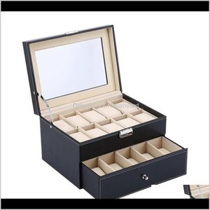 Boxes Bins 610122024 Display Grid Y1116 Warehouse Wristwatch Box Storage Leather Organizer Collection Case Jewelry Oversea Watch Wmtgm Wmbsk