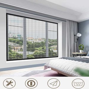 Curtain & Drapes Window Screen Anti Mosquito Bug Insect Nano DIY Mesh Net Curtain,Customizable