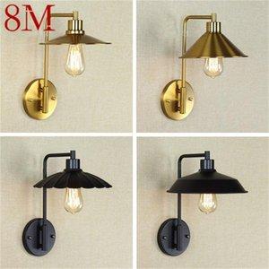 Wall Lamps 8M Creative Light Sconces LED Retro Design Loft Fixtures Decorative For Home Corridor