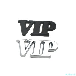 Car Styling 3D Metal VIP Emblem Auto Body Trunk Badge Decoration Accessories Sticker