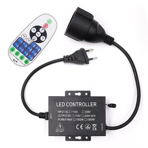 Controllers US110V EU AU 220V Dimmer With 23key RF Remote Controller 1000W 1500W For 2835 LED Strip Neon Light Bulb String