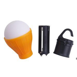 Mini Taşınabilir Fener Çadır Işık LED Ampul Acil Lamba Su Geçirmez Asılı Kanca Fener Kamp Mobilya Aksesuarları Için DHA4866