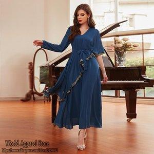 Ethnic Clothing Eid Mubarak Muslim Hijab Long Dress Abaya Dubai Islam Turkish Dresses Abayas For Women Kaftan Moroccan Robe Longue Djelaba F