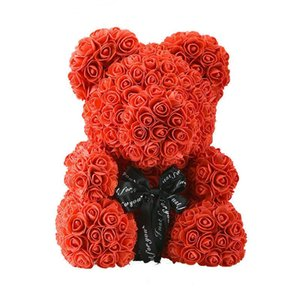 25 40 Cm Teddy Rose Bear Without Box Artificial PE Flower Valentine's Day For Girlfriend Wife Mother's Gifts Decorative Flowers & Wreaths