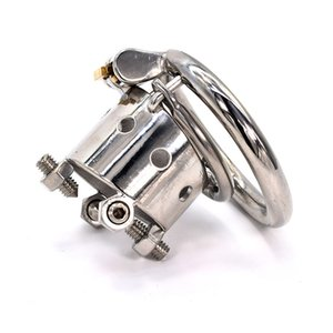 Ergonomic Stainless Steel Stealth Lock Male Chastity Device,Cock Cage, Penis Lock,Cock Ring,Chastity Belt