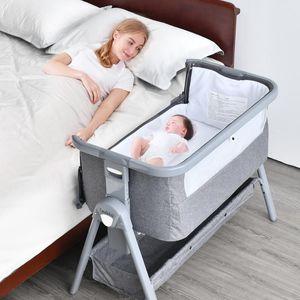 Крюпкая кроватка путешествия детские съемные кроватки для кроватки Bassinet для рожденных кроватков